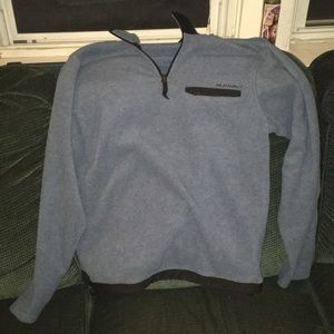 Old Navy Quarter Zip Fleece w/ zip chest pocket